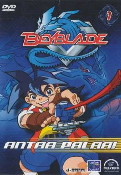 TV Series - Beyblade 1 Finnish