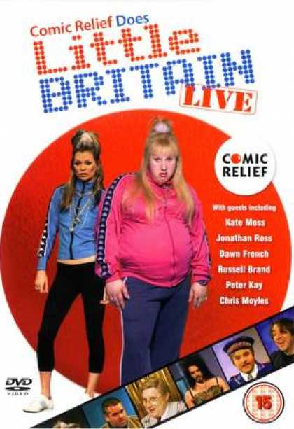 TV Series - Comic Relief Does Little Britain Live