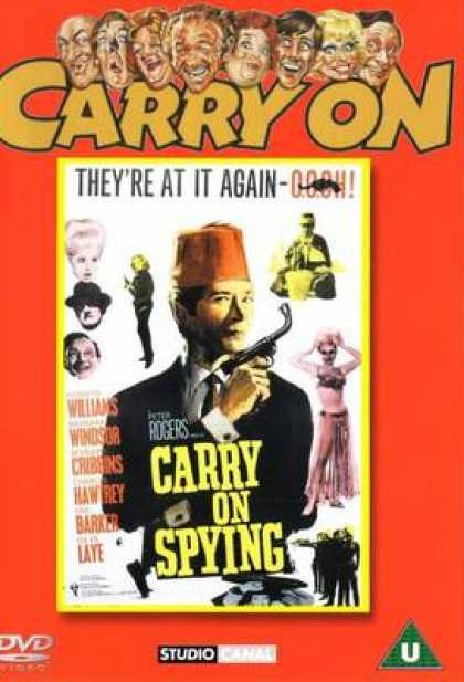 TV Series - Carry On - Carry On Spying Thinpack
