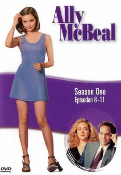 TV Series - Ally Mcbeal 1 8 - 11 German