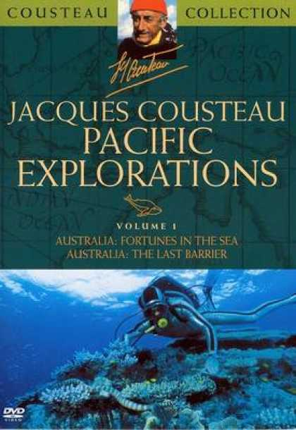 TV Series - Jacques Cousteau Pacific Exploration