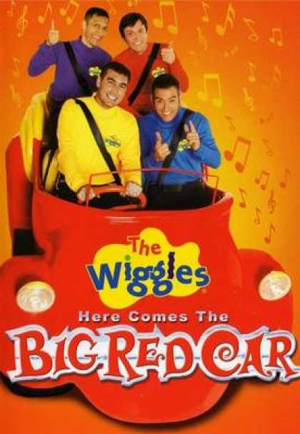 TV Series - The Wiggles - Here Comes The Big Red Car