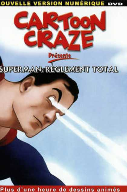 TV Series - Cartoon Craze - Superman Reglement Total