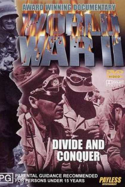 TV Series - WW II - Divide And Conquer Thinpack