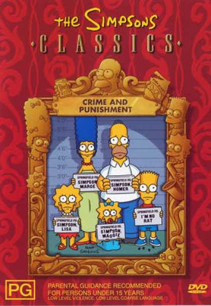 TV Series - The Simpsons Classics Crime And Punishment