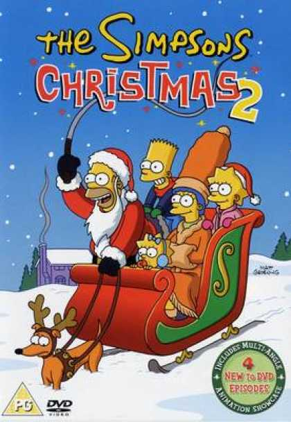 TV Series - The Simpsons Christmas