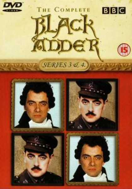 TV Series - Black Adder And 4 UK