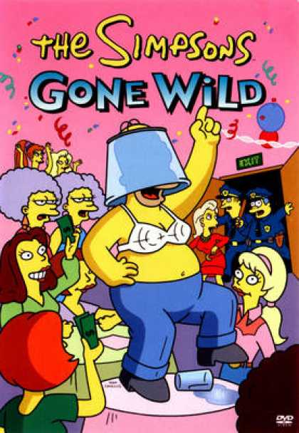 TV Series - The Simpsons Gone Wild