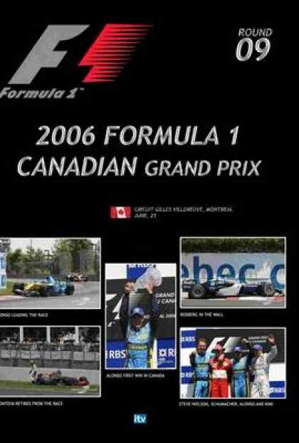 TV Series - Formula 1 - 2006 Canadian Grand Prix Thinpack