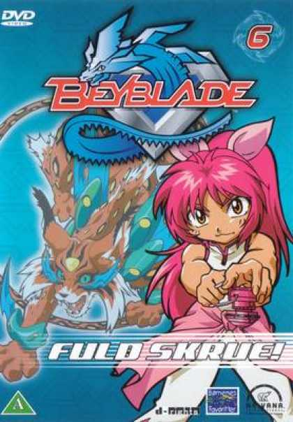 TV Series - Beyblade DANISH