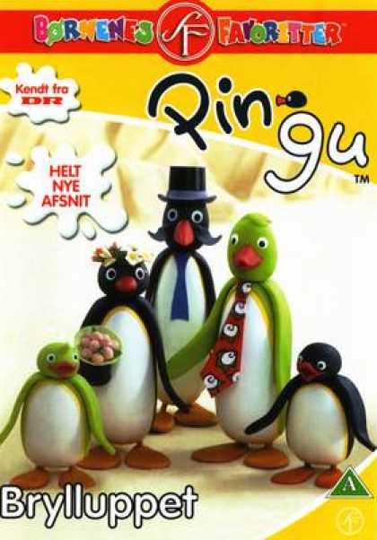 TV Series - Pingu - Brylluppet DANISH