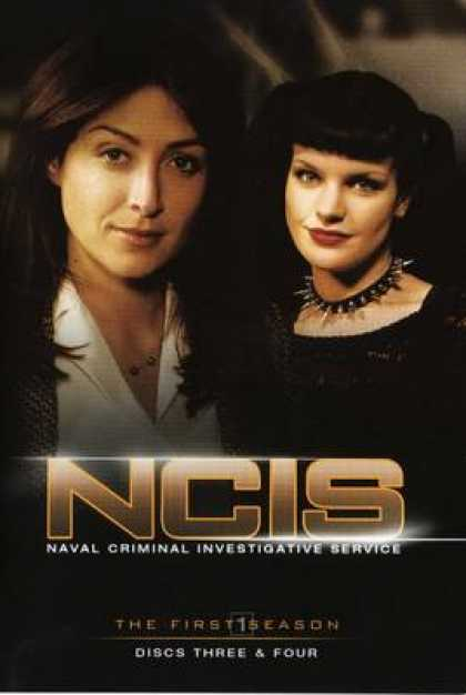 TV Series - NCIS All Disc 2 Fronts