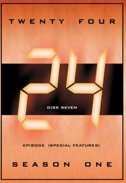 TV Series - 24 S 1 To 5-35 All In One Front Covers