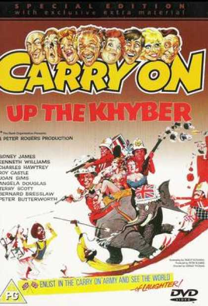 TV Series - Carry On - Carry On Up The Khyber Thinpack