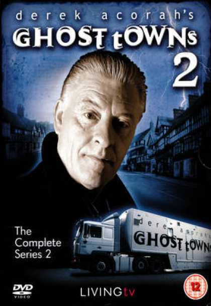 TV Series - Derek Acorah's Ghost Towns The Complete Series