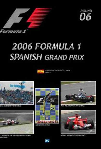 TV Series - Formula 1 - 2006 Spanish Grand Prix Thinpack