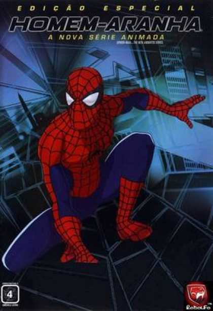 TV Series - Spider Man The New Animated Series Portuguese