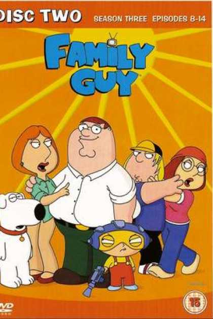 TV Series - Family Guy Episodes 8-14
