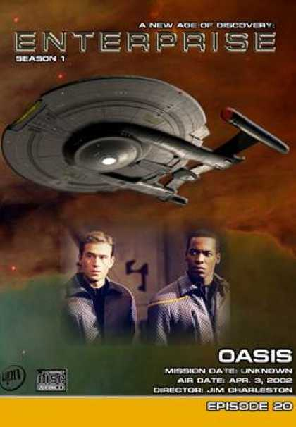 TV Series - Star Trek Enterprise 1x20 Oasis