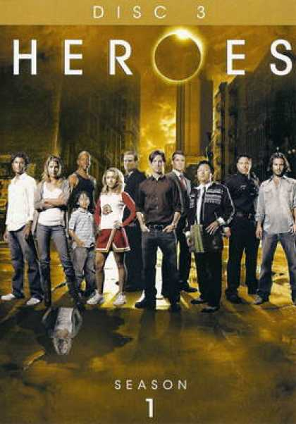 TV Series - Heroes: (2007) UNRATED