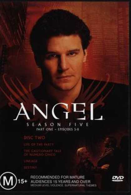TV Series - Angel Episodes 5 - 8 Australian