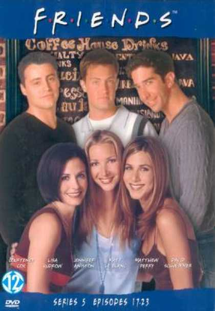TV Series - Friends Episodes 17-23