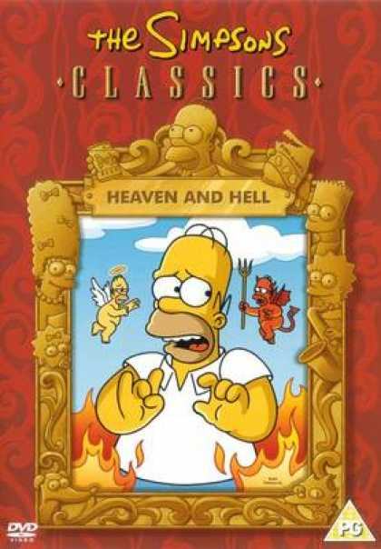 TV Series - The Simpsons Heaven And Hell