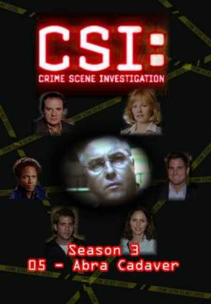 TV Series - CSI - S3 - E