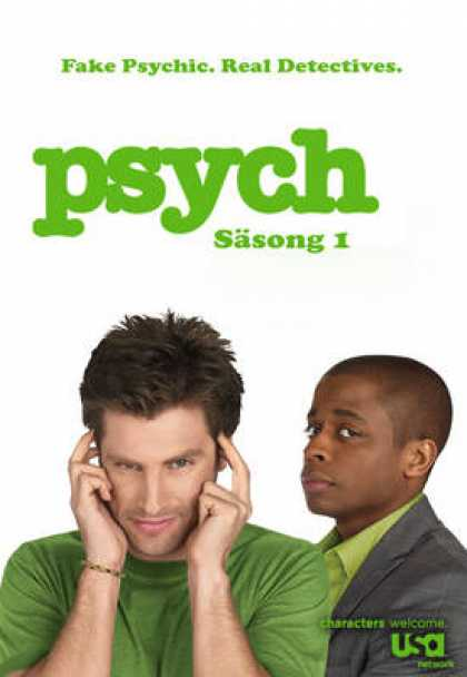 TV Series - Psych SWEDISH