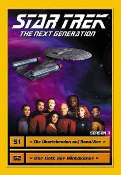 TV Series - Star Trek - The Next Generation - Staffel 3 Fo
