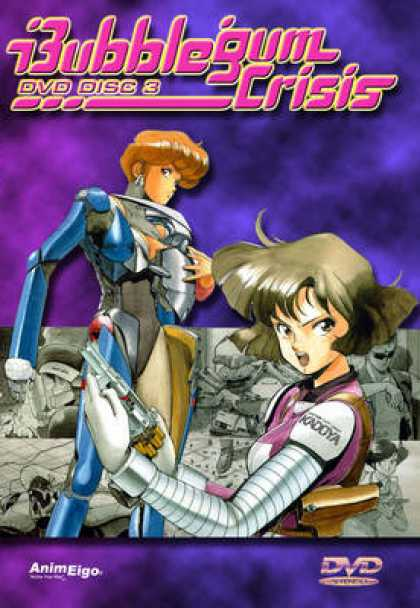 TV Series - Bubblegum Crisis