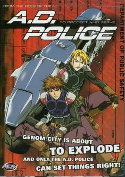 TV Series - A.D. Police
