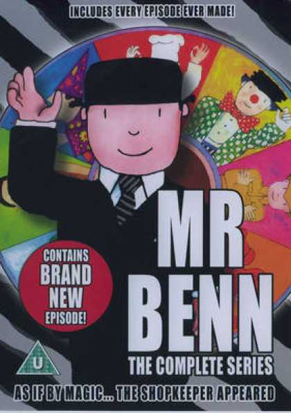 TV Series - Mr Benn Complete Series1 UK
