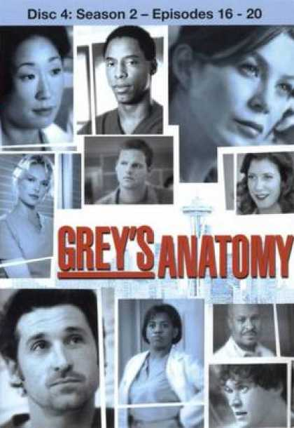 TV Series - Grey's Anatomy Disc4