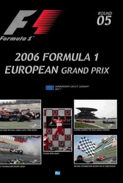 TV Series - Formula 1 - 2006 European Grand Prix Thinpack