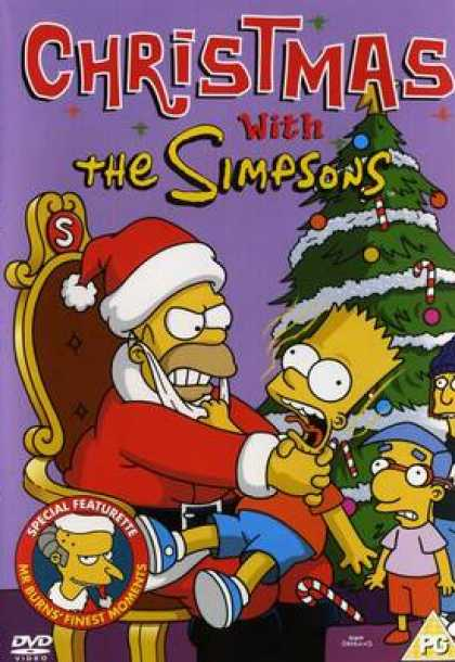 TV Series - The Simpsons Christmas With