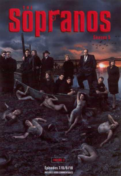TV Series - Sopranos Episodes 7 - 8 9