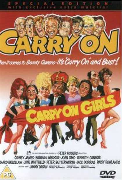 TV Series - Carry On - Carry On Girls Thinpack