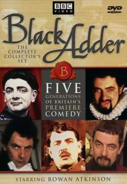 TV Series - Black Adder - The Complete Collectors