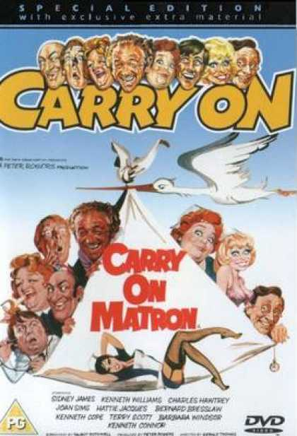 TV Series - Carry On - Carry On Matron Thinpack