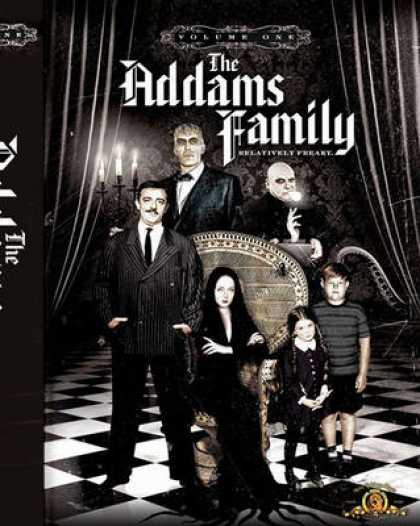 TV Series - Addams Family - 6-Disc-AlphaPak ENG R