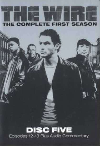 TV Series - The Wire Disc Five