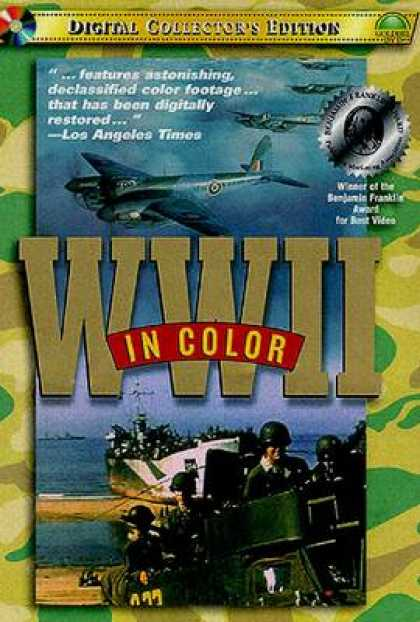 TV Series - World War II - In Color Thinpack