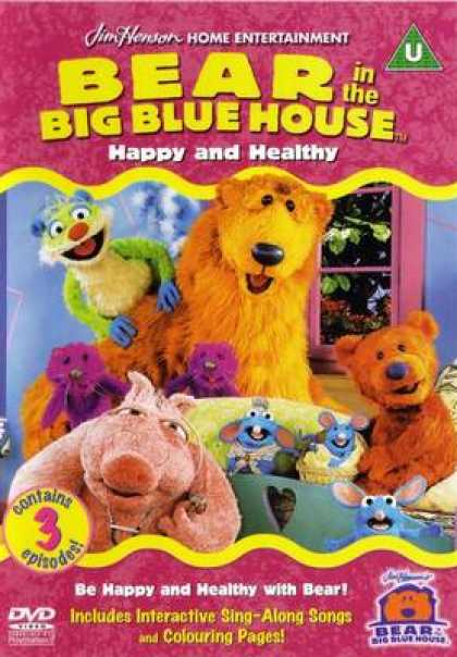 TV Series - Bear In The Big Blue House - Happy And Healthy