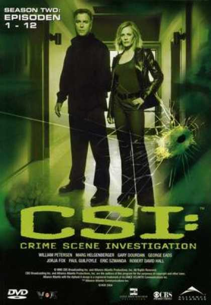 TV Series - CSI: Crime Scene Investigation - 2 - E