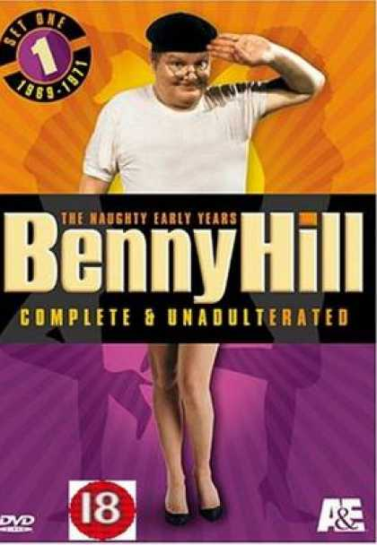 TV Series - Benny Hill - The Naughty Early Years Set