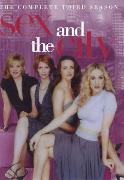 Sex and the City The Complete First Season DVD.