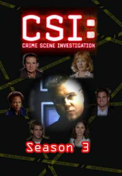 TV Series - CSI - Blank