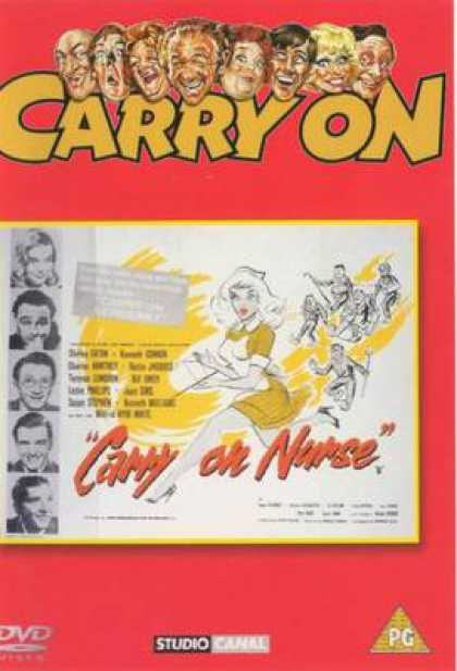 TV Series - Carry On - Carry On Nurse Thinpack