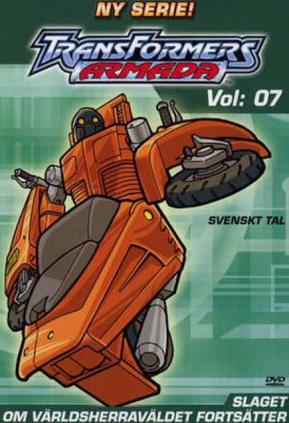 TV Series - Transformers Armada SWEDISH